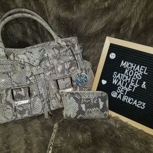 Michael Kors Bags - Michael Kors Wallet and Satchel Set